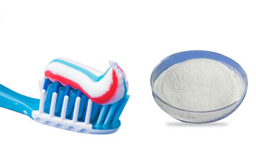 carboxymethyl cellulose in tooth paste